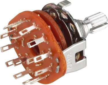 Rotary Multistep Switches RS-134S