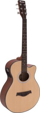 Dimavery AW-400 Western guitar, nature