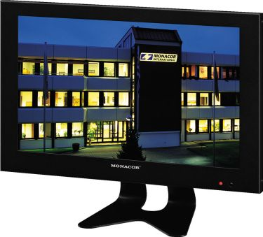 LCD colour monitor with LED backlight TFT-1002LED