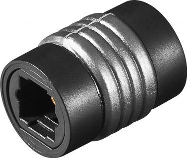 Optisk adapter - 2 x TOSLINK hun