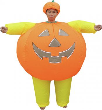 Europalms Inflatable costume Pumpkin man