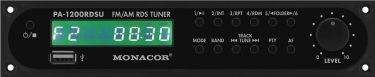 FM/AM RDS tuner insertion with USB interface PA-1200RDSU