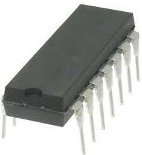 CD4030BE IC - Quad exclusive-or gate, CMOS (DIP14)