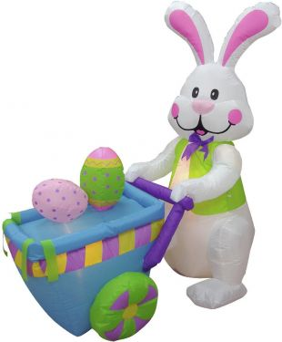 Europalms Inflatable figure Bunny Max, 120cm