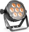BT280 LED Flat Par 7x10W 6-1 RGBWA-UV DMX IRC