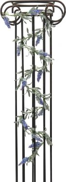 Europalms Flowering Garland, blue, 180 cm