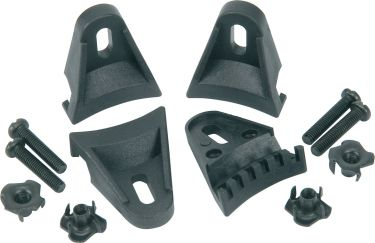 Set of 4 Plastic speaker clamps, with T nuts and bolts