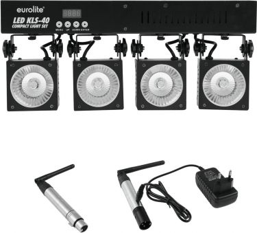 Eurolite Set LED KLS-40 + transmitter + receiver