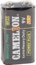 ZINC CARBON E-BLOCK 9V-400mAT