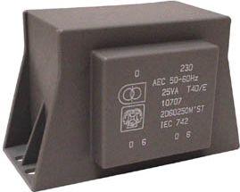 10671 Indstøbt tr. 12VA 2X15V/0.4A