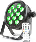 BT310 FlatPAR 12x 8W 4-in-1 LEDs