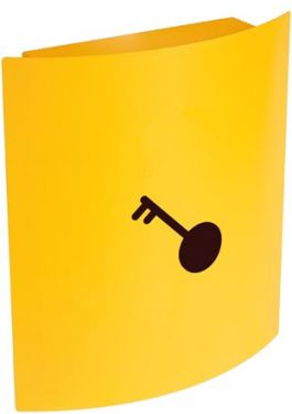 KEY CABINET - 215 x 63 x 245 mm - YELLOW BG80030