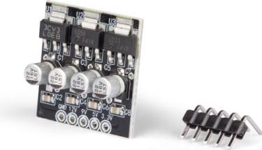 Velleman minimodul - 3.3 / 5/9 Vdc strømforsyning MM108