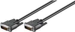 DVI-D kabel - FullHD 2x DVI-D (24+1) han (5m) 68084