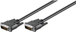DVI-D kabel - FullHD 2x DVI-D (24+1) han (1,8m) 93573