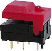SP86-A2-5-3 DIGITAST sort grøn LED