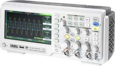 Oscilloskop digital 100MHz 2 Kanaler 1Mpts /ch