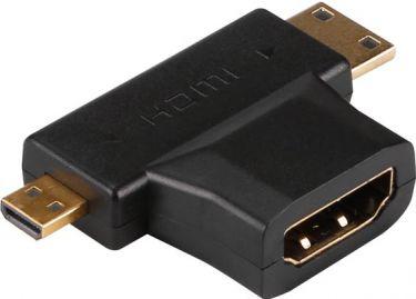 Velleman - HDMI T-adapter - A hun til Mini C han og A han