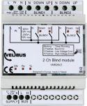 Velbus - VELBUS - 2-CHANNEL BLIND CONTROL MODULE