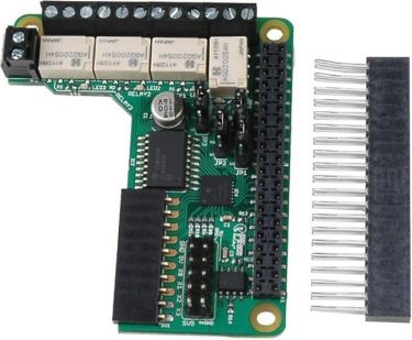 Raspberry Pi - PIFACE RELAY+ Ekspansionport til Raspberry Pi A+, B+, Pi 2/3