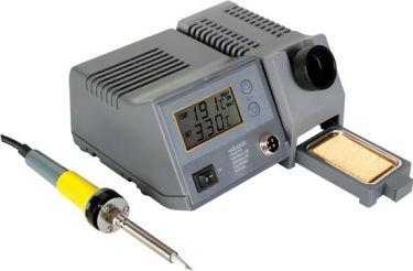 Velleman - Prof. loddestation m. LCD display (48W, 150-450°C)