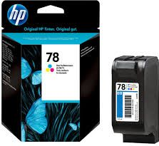 Hewlett Packard - HP blækpatron - HP 78 Gul/cyan/magenta (560 sider)