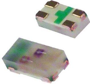 SMD LED - To-farvet RØD/GRØN, 0603 (120°)