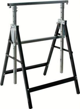 PEREL - Metal arbejdsbuk - Maks 200 kg (højde: 810 - 1300mm)