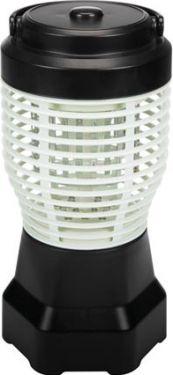PEREL - Genopladelig 2-i-1 insektdræber / campinglampe - 1,5W