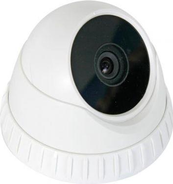 Velleman - CCD dome kamera - Farve, IR natlys, Hvid (500 linjer, 92.6°)