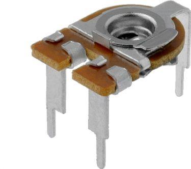 PIHER - Vandret trimmepotmeter - 100 Kohm, lille 10mm