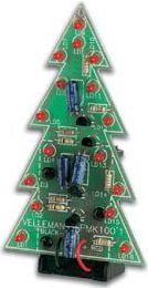Velleman - MK100 - Juletræ med 16 lysdioder