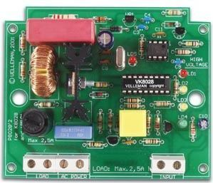 Velleman - K8028 - Multifunktions lysdæmper