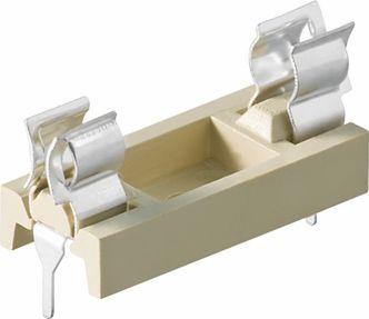 Sikringsholder - 6,35 x 32mm, til print, LC