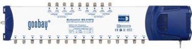 GOOBAY - SAT multiswitch - 9 ind, 16 ud (QUAD-LNB kompatibel)