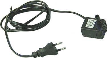 Mini vandpumpe - 230Vac / 5W (Hmaks.:300cm, Qmaks.:320L/t)