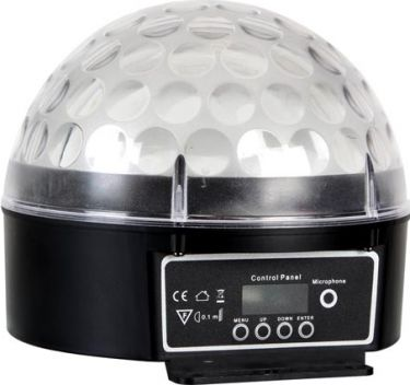 HQ Power - LED ZIRCON - 6 x 3W RGB LED - DMX styret