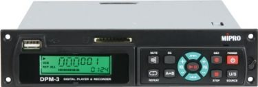 Mipro digital audio USB/SD player & recorder modul