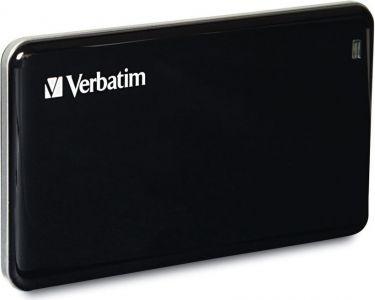 Verbatim - Ekstern USB 3.0 SSD - Store´n´Go, 256GB, Sort