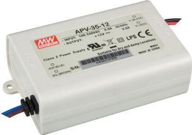 MeanWell - Konstant spænding strømforsyning - 5V, 25W (IP42)