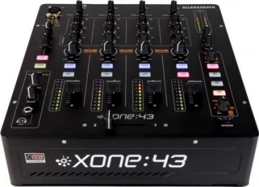 A&H Xone43 DJ / Club mixer 4 input, 2 zoner