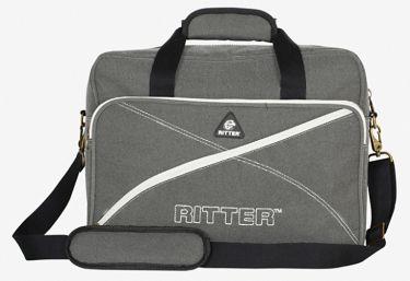 RitterBag Laptop Bag, Farve: Stålgrå & Gul