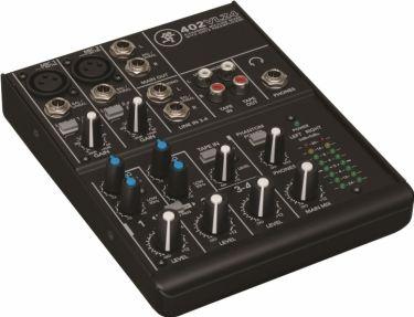 Mackie mixer 402VLZ4 4 kanaler (2 Mic / 1 stereo line)
