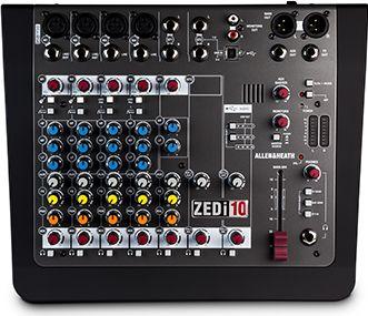 A&H ZED10i 10 kanals live & recording mixer m/USB