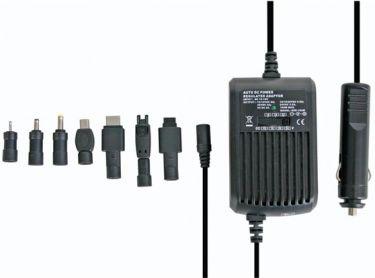 12V notebook biladapter - 15 til 24V / 100W (5000mA) +5V USB