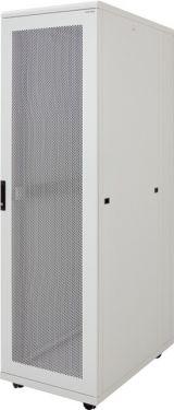 """Canovate - 19"""" server rackskab - 42U, B600xD1200mm, Grå"""