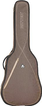 RitterBag Classic 3/4 Guitar, Farve: Bison & Sand