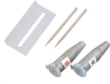Strømledende 2-komponent glaslim - Til bilrude affugter (2g)