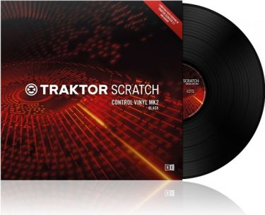 TRAKTOR Scratch Pro Control Vinyl MK2 Black (21446)