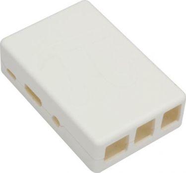 Raspberry Pi kabinet - Hvid (Til type B+, 2B og 3B)